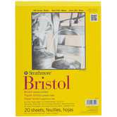 Strathmore 300 Series Smooth Bristol Paper Pad